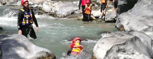 Baby Body Rafting